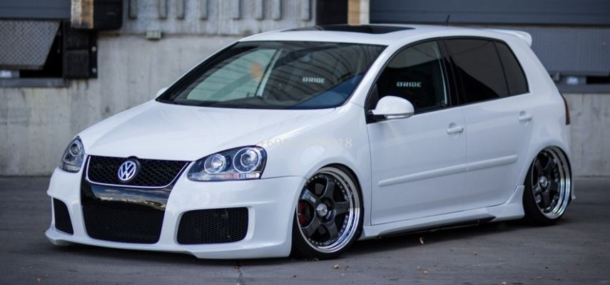 volkswagen golf mk5 gti front bumper oettinger style for mk5 golf replace upgrade performance look frp material new set