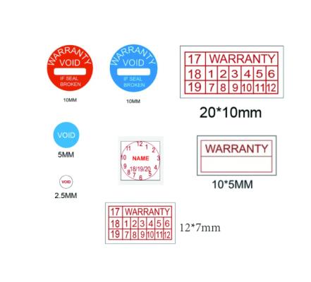 Warranty Sticker