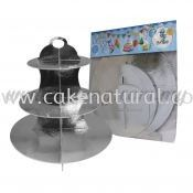 Cup Cake Stand *SILVER (P-CS-SI)