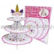 Cup Cake Stand Unicorn * Eyelashes (P-CS-UN1)