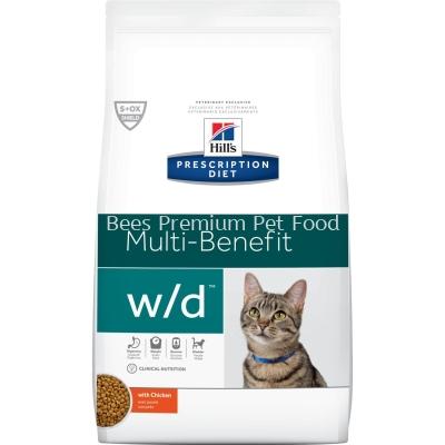 Hill's Prescription Diet w/d Multi Benefit Feline Dry Food (Chicken) 1.5kg