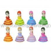 Cake Dress Girl 8pcs (DC-CDG)