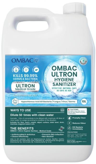 Ombac plus Ultron Medical Grade (10L)
