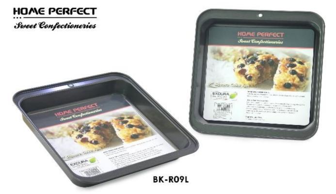 "Home Perfect Square Cake Pan 9"" BK-R09L"