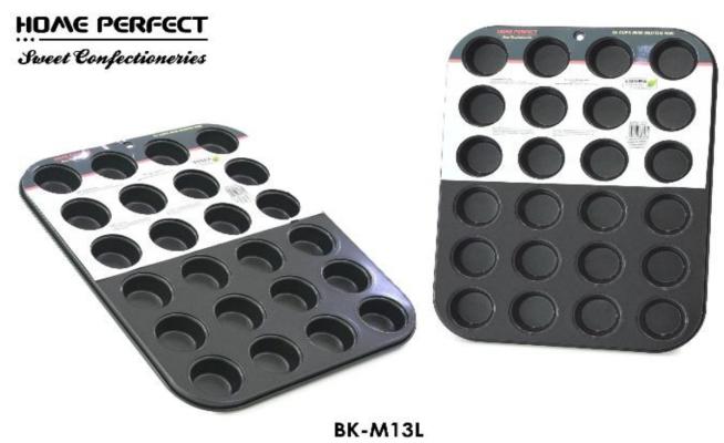 Home Perfect 24 Cup Mini Muffin Pan BK-M13L
