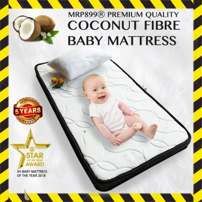 Baby Coconut Mattress (Foam + Coconut Fiber)