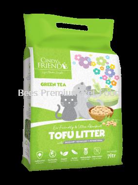 Cindy & Friends Tofu Litter (Green Tea)