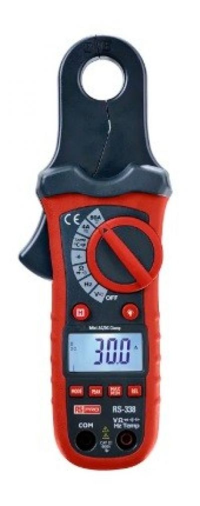 146-9096 - RS PRO Clamp Meter, Max Current 80A ac, 80A dc CAT III 600V