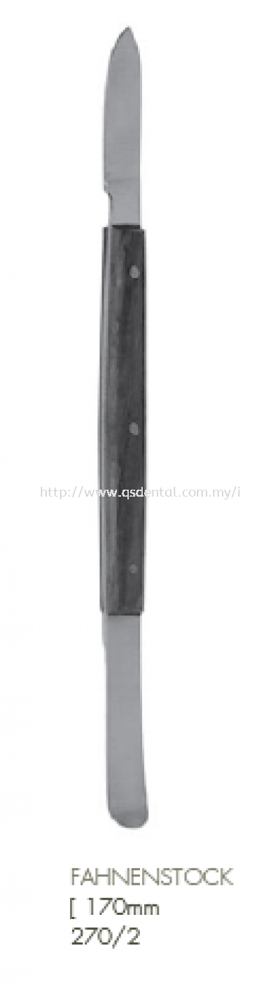 270/2 [170mm Fahnenstock Waxing Instrument