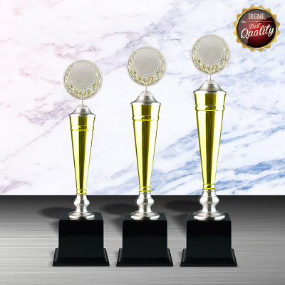 WS6040 Exclusive White Silver Trophy