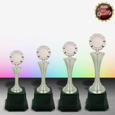 WS6027 Exclusive White Silver Trophy