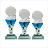 8113 Exclusive Crystal Glass Awards  Soccer Trophy Trophy Series Trophy