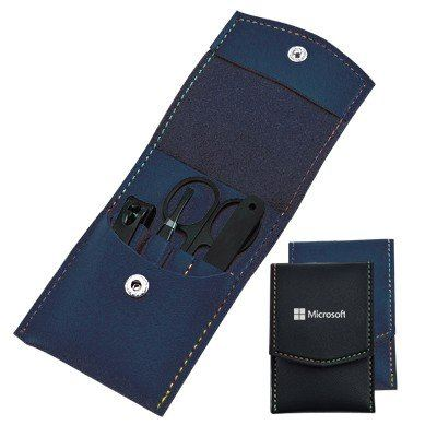 Manicure Set with PU Cover - HS 135