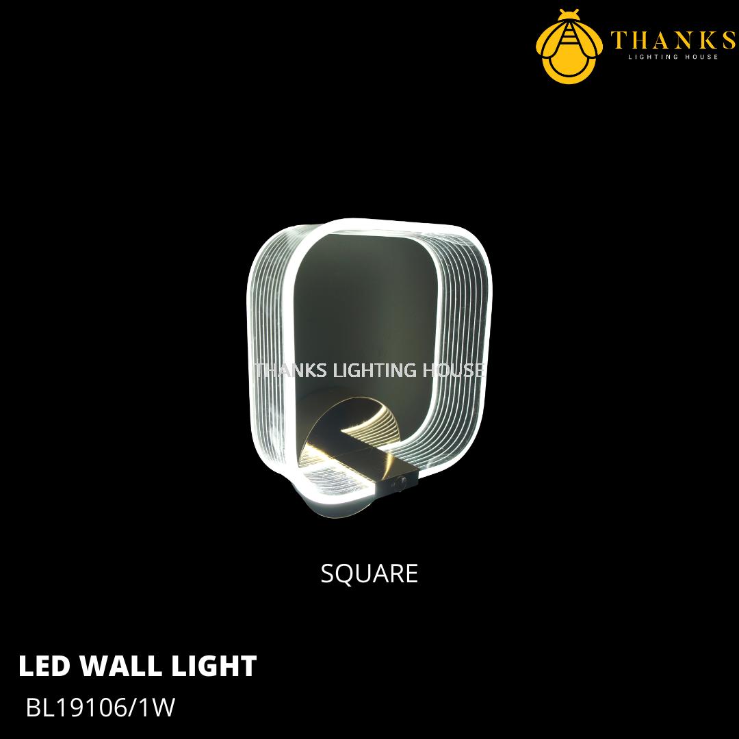 BL19106/1W LED Wall Light