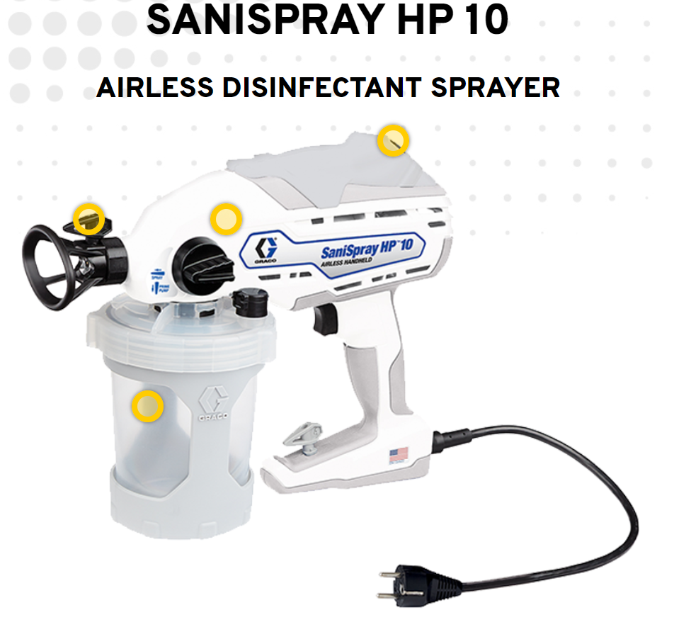 Graco SaniSpray HP10