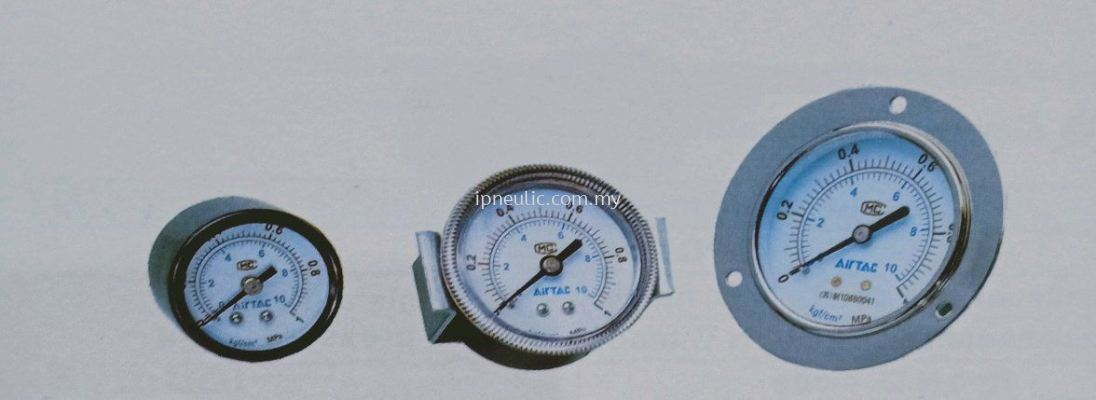 GS,  GF,  GU SERIES PRESSURE GAUGE