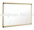 Wall Mounted Poster Frame Display White Board (F)