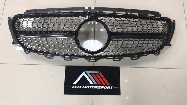 Mercedes Benz W213 Diamond front grille
