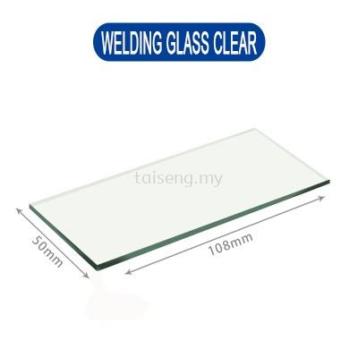 Transparent Welding Glass