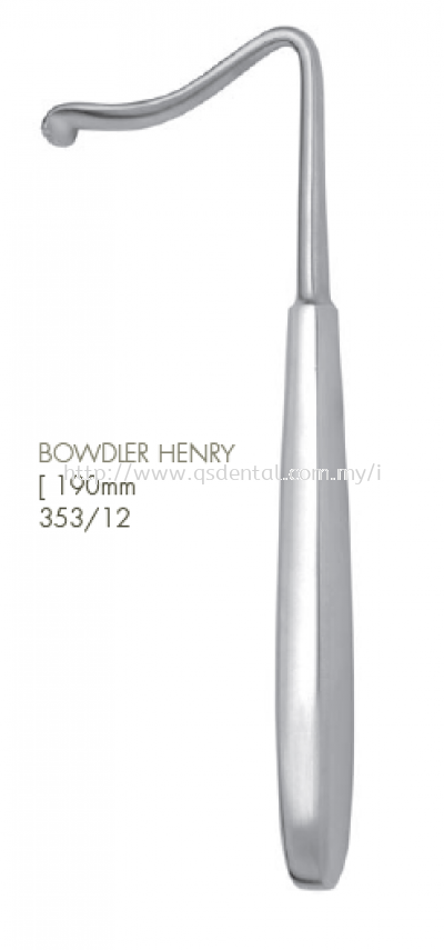 353/12 [190mm Bowdler Henry Retractor