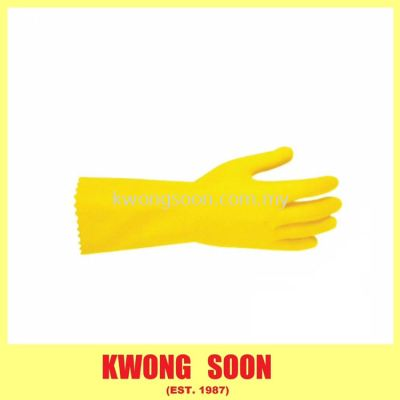 Yellow Household Glove
