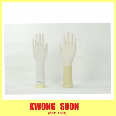 Blue White Latex Glove Medical Glove Medical Grade Disposable Glove