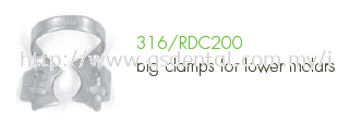 316/RDC200 Clamp Fig.200 For Clamps For Lower Molars