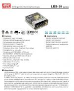 LRS-50 Series Power Switching supply