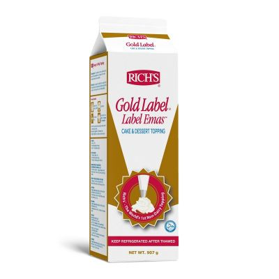 Rich Gold Label Whip Non-Dairy Topping 454g [Please Pick The Size]
