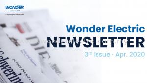 WONDER ELECTRIC NEWSLETTER 3rd Issue - April 2020