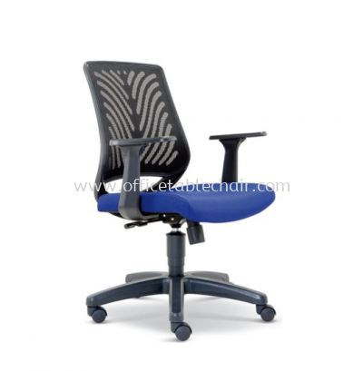 INSIST LOW BACK MESH CHAIR WITH POLYPROPYLENE BASE ASE 2624