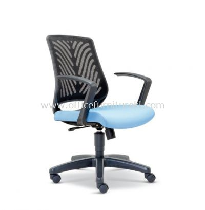 INSIST LOW BACK ERGONOMIC MESH CHAIR WITH POLYPROPYLENE ASE 2623