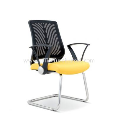 INSIST VISITOR ERGONOMIC MESH CHAIR WITH CHROME CANTILEVER BASE ASE 2625