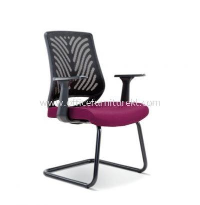 INSIST VISITOR ERGONOMIC MESH CHAIR WITH EPOXY BLACK CANTILEVER BASE ASE 2628