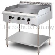 STAINLESS STEEL GAS GRIDDLE (GG3BFS)