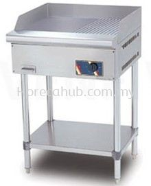 STAINLESS STEEL ELECTRICAL GRIDDLE (HALF RIBBED) (EG3500 - 12FS)