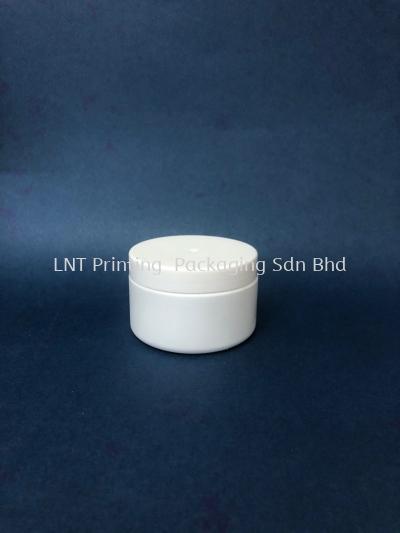 PJ147/140w. 140gm White Plastic Jar