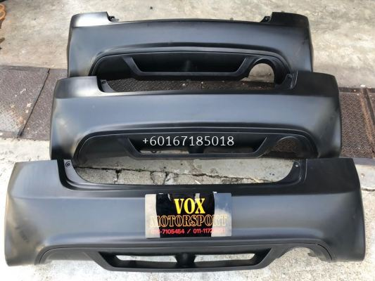2006 2007 2008 2009 2010 2011 honda civic fd2r type r rear bumper for civic fd replace upgrade performance look pp copy ori material new set