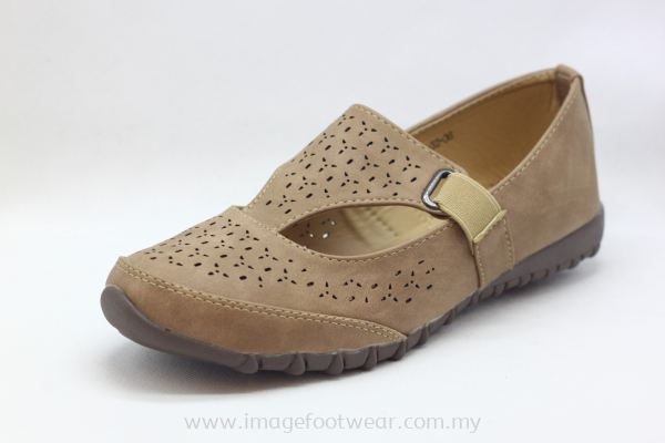 Lady Flat Trendy Comfort Shoe -TF-828-32- PINK Colour