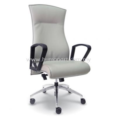 VICTO DIRECTOR HIGH BACK CHAIR WITH CHROME TRIMMING LINE ASE 2261