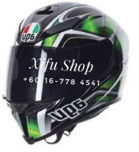 Agv Hurricane Black-Green-White