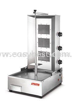GAS KEBAB MACHINE 2 BURNER