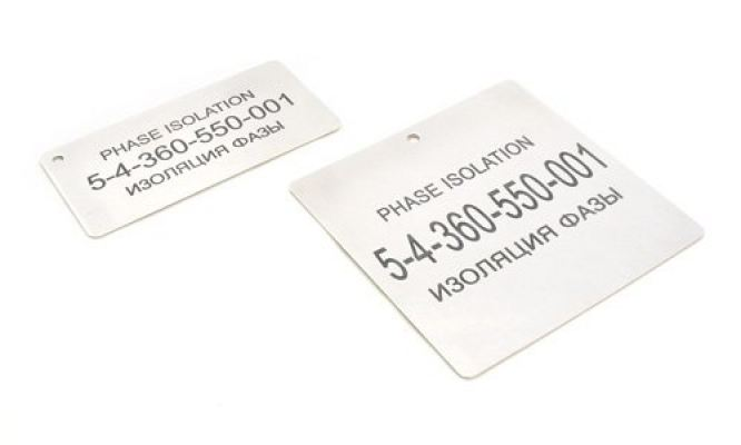 Endurance® Stainless Steel Engraved Labels