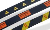 Optical Fibre Warning Labels Self-Adhesive Label Cable Identification System & Accessories