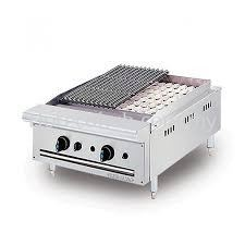 STAINLESS STEEL CHAR ROCK BROILER (CRB2B)
