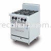 STAINLESS STEEL DELUXE RANGE OVEN WITH OPEN BURNER (DRO4L) OVEN STOVE
