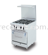 STAINLESS STEEL DELUXE RANGE OVEN WITH OPEN BURNER (DRO4H) OVEN STOVE