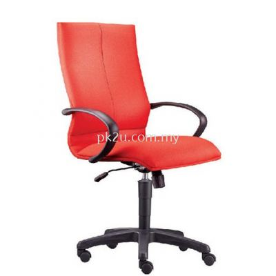 PK-WROC-9-M-L1-Earth Medium Back Chair