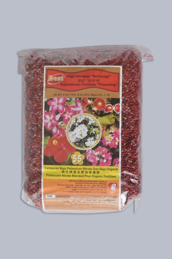 Superbloom Fertilizer Flowering 55  ������ (400g/3kg)
