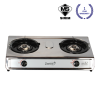 KDI201C Double Burner Table Top Gas Cooker